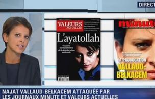 Lien permanent vers Najat Vallaud-Belkacem ne répondra pas aux injures