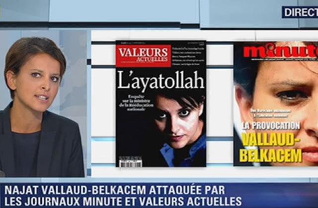 Najat Vallaud-Belkacem ne répondra pas aux injures