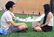 Lien permanent vers La Napkin Table, une «nappe » pour se décoller de son smartphone