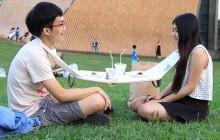 La Napkin Table, une «nappe » pour se décoller de son smartphone