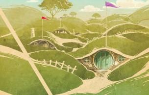 De Poudlard à King's Landing, des posters de voyages fantastiques