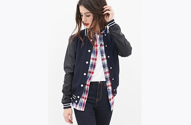 Sélection de vestes et manteaux chez Forever 21
