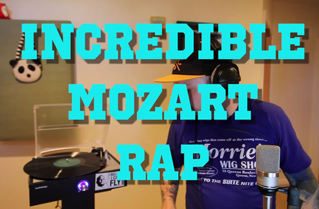 L'impressionnant slam sur du Mozart du rappeur Mac Lethal
