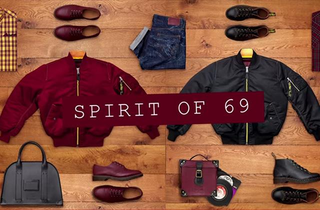 Dr. Martens sort «Spirit of 69 », une collection exclusive