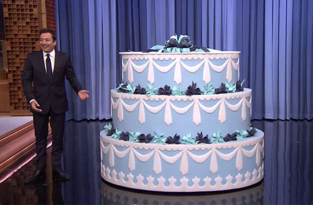 La surprise d'anniversaire géante de Jimmy Fallon