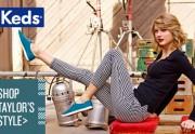 Taylor Swift signe une nouvelle collection pour Keds