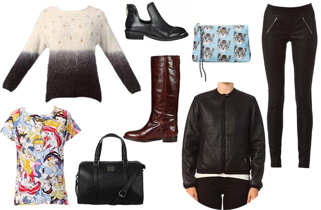 Les tendances mode automne/hiver 2014-2015 repérées chez Monshowroom