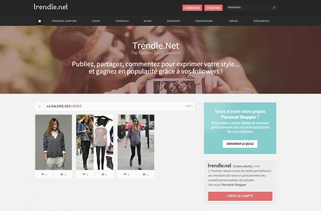 Trendle, le réseau social pour les fans de mode
