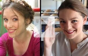Lien permanent vers Deux looks beauté pour la rentrée — Tuto beauté/coiffure en vidéo