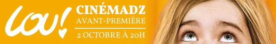 Voir la vidéo CinémadZ – Lou ! en avant-première le 2 octobre avec Julien Neel et Kyan