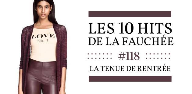 Les 10 Hits de la Fauchée #118 — Couleurs d'automne