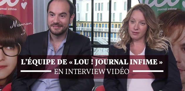L'équipe de «Lou ! Journal infime » en interview vidéo