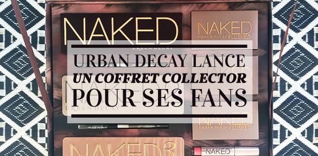 Urban Decay lance un coffret collector pour ses fans