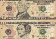 Lien permanent vers Des billets de banque transformés en personnages de la...