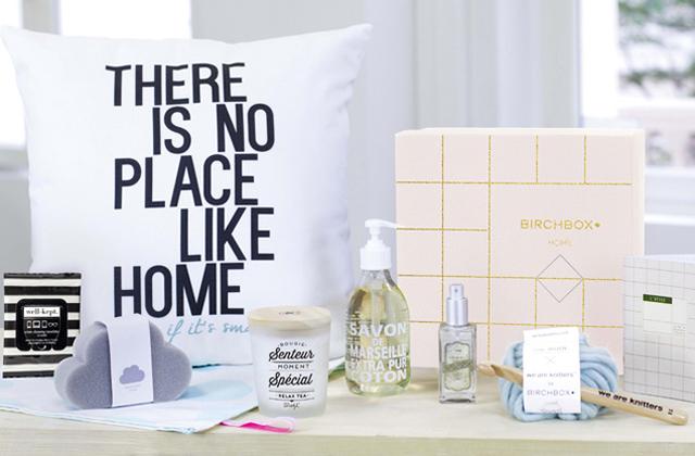 Birchbox lance sa première box Home !