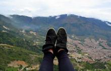Je suis assistante de français à Medellín, en Colombie — Carte postale