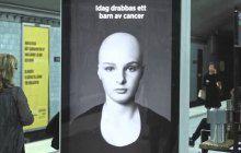 Une publicité interactive pour lutter contre le cancer