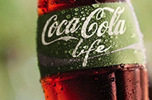 Le Coca Life, à la stévia, arrive bientôt en France