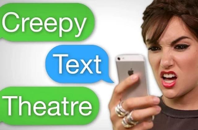 Le Creepy Text Theatre de Sasha Grey tourne en dérision des sextos flippants