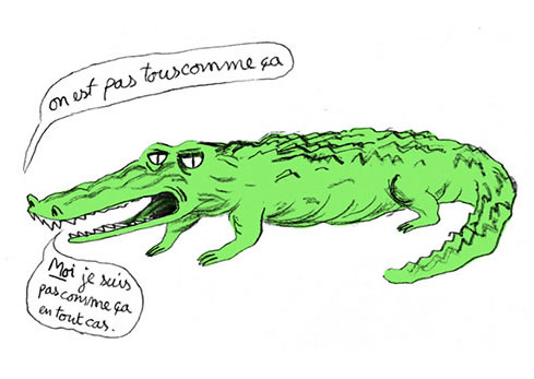crocodile-homme