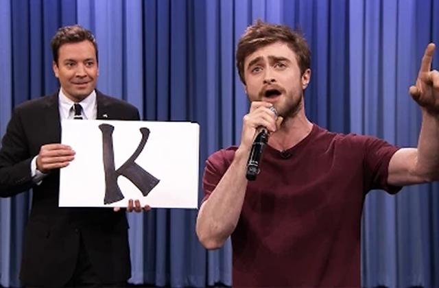 Daniel Radcliffe rappe chez Jimmy Fallon (et c'est totalement bluffant)