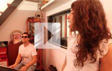 Djazia Satour chante « Bittersweet » en acoustique