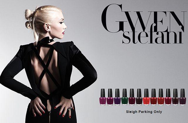 Gwen Stefani crée une nouvelle collection de vernis pour O.P.I