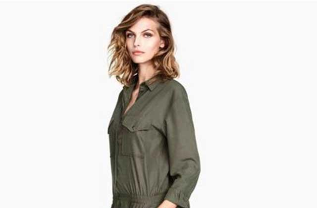 H&M présente publiquement ses excuses pour une combinaison militaire
