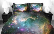 Des housses de couettes galaxie, pour rêver dans les étoiles