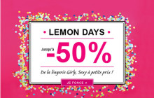 Lemon Curve lance les Lemon Days !
