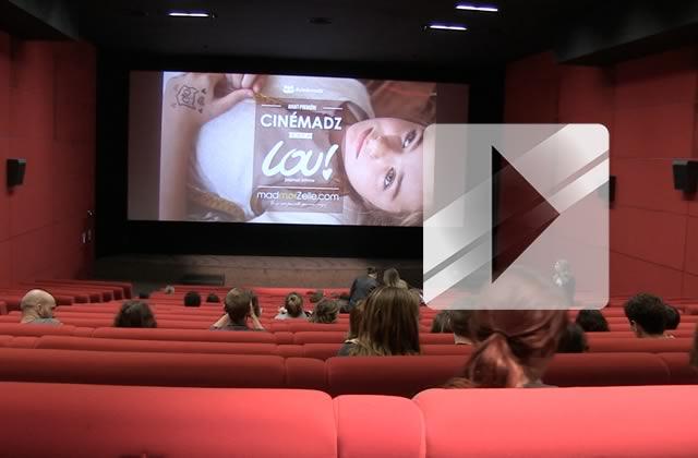 Lou ! Journal infime en avant-première CinémadZ — Reportage vidéo