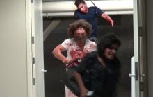 Massacre à la tronçonneuse : le canular dans un parking souterrain