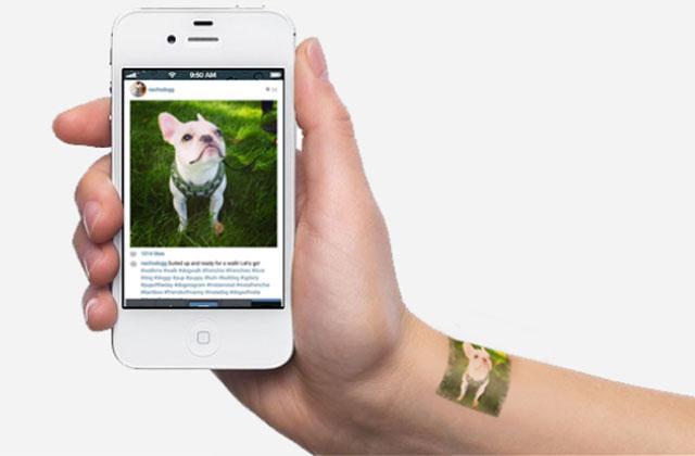 Picattoo : tes photos Instagram transformées en tatouage