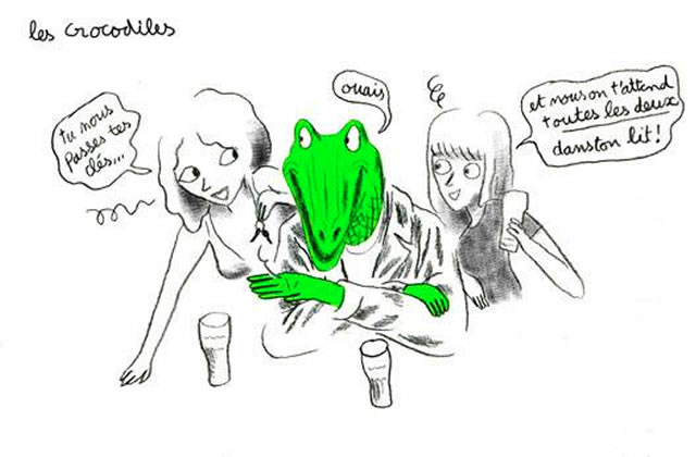 «Les Crocodiles », l'adaptation en BD du blog « Projet Crocodiles », est disponible en librairies !