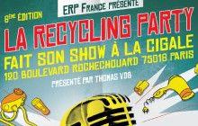 La Recycling Party échange vos appareils électriques contre de la musique live !