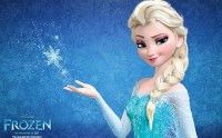 La Reine des Neiges inspire une robe de mariée