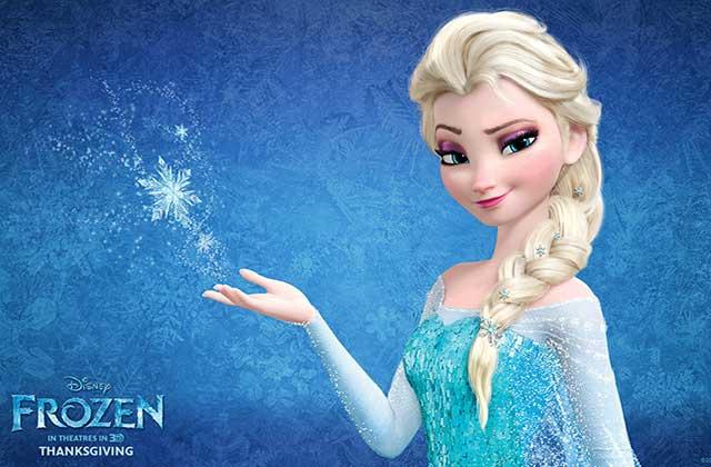 La reine des neiges inspire une robe de mari e - Personnage reine des neiges ...