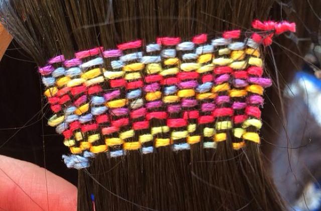 La tapisserie sur cheveux, une tendance à suivre ?