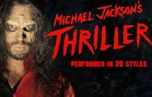 «Thriller », de Michael Jackson, dans 20 styles différents