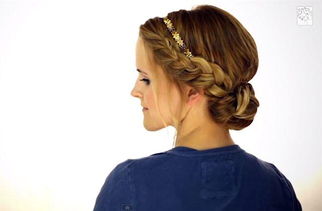 Sélection de tutos coiffure avec un headband