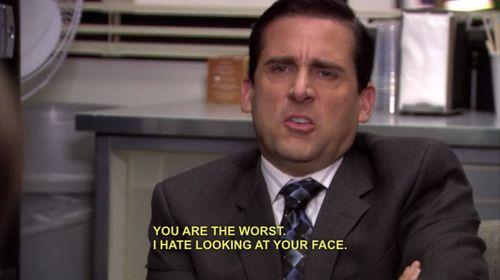 Michael n'aime pas les endives au jambon