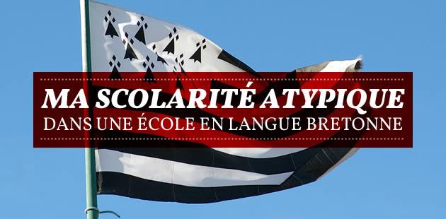 Ma scolarité atypique dans une école en langue bretonne