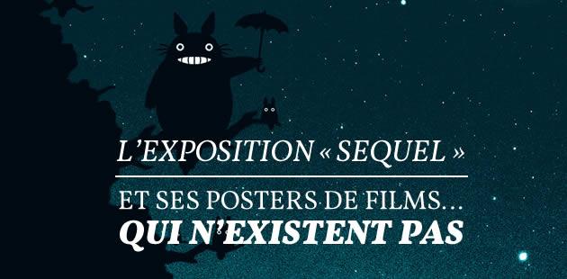 L'exposition «Sequel »et ses posters de films… qui n'existent pas