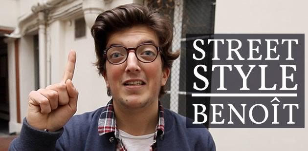 Street Style — Benoît et ses jolies chaussettes