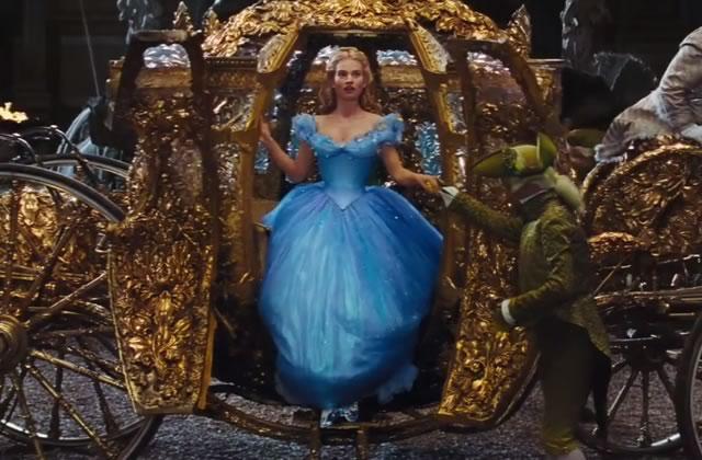 « Cendrillon »revient au cinéma, et la bande-annonce française est sortie !