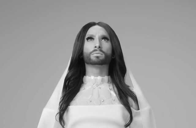 Conchita Wurst dévoile le très beau clip de «Heroes »