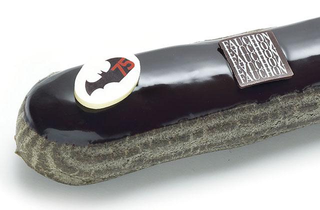 Fauchon crée un éclair Batman pour les 75 ans du personnage