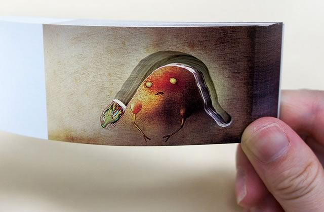 Les merveilleux flip-books japonais de Mou Hitotsu no Kenkyujo