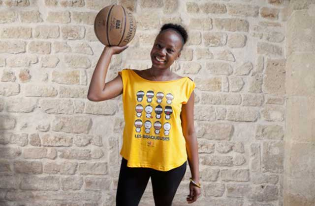 LadyHoop allie inspirations basket et coupes féminines