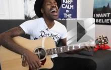 Mat Bastard chante « Être heureux » en acoustique